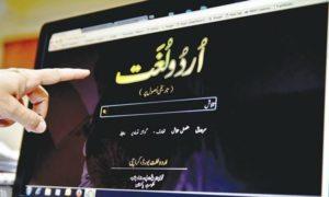 Multivolume Urdu dictionary UDB   A Project of Urdu Lughat Board Karachi