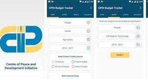CPDI Budget Tracker App