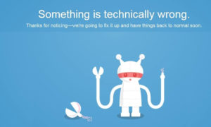 Twitter not Working system down   Social website and app not working