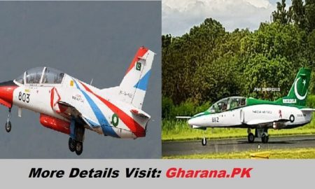 PAF Sherdil Plane New Color by Changing US Color to Pak Flag Color