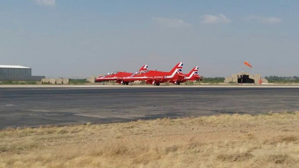 Red Arrows Aerobatic Display Karachi Pictures & Videos