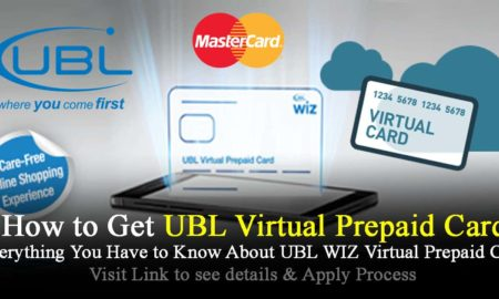 UBL WIZ Virtual Prepaid Card Powered by MasterCard