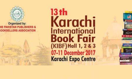 13th Karachi International Book Fair 2017 (KIBF)