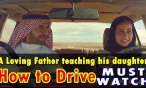A Loving Father teaching his daughter | How to Drive | Coca Cola New Ad