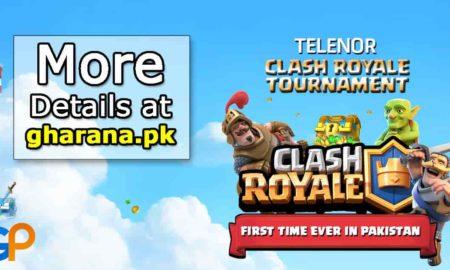 Clash Royale TournamentTelenorPakistan