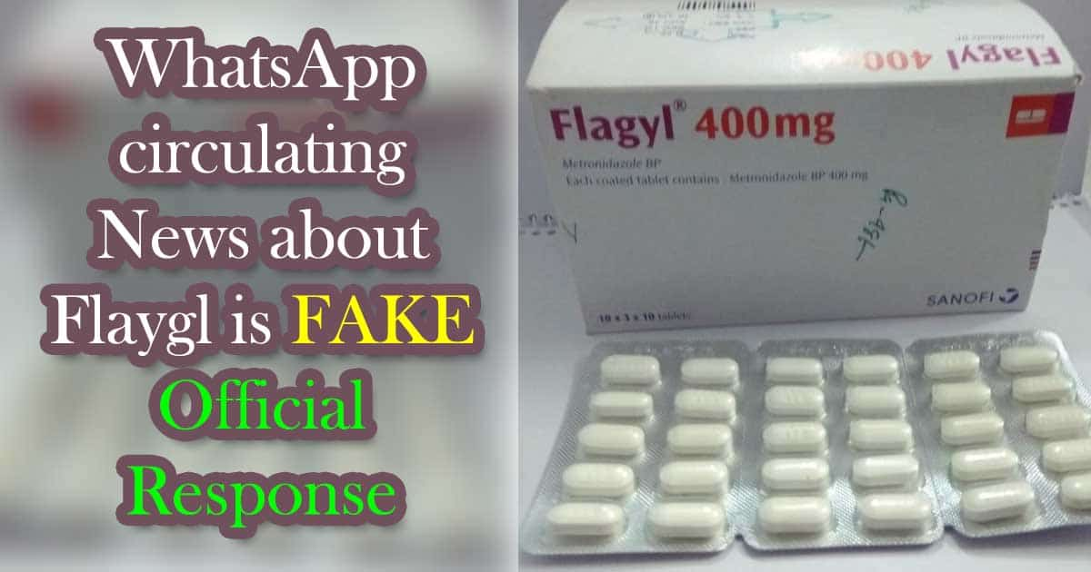 FAKE Circulating Message about Flagyle