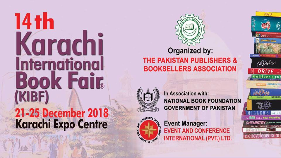 14th Karachi International Book Fair - Gharana.PK