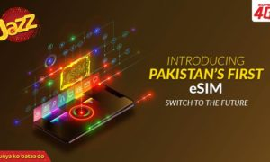 Activate your Pakistan's First e-Sim with in minute via Jazz - GharanaPK
