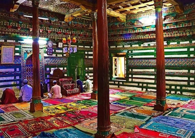 Chaqchan Mosque is the most beautiful and oldest mosque in the region