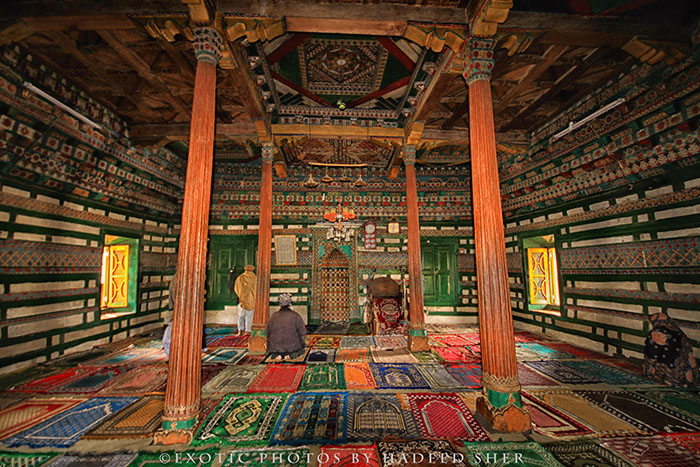 Chaqchan Masjid is the most beautiful and oldest mosque in the region