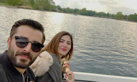 Hamza Ali Abbasi just confirmed his marriage with Naimal Khawar. Pics of Hamza Weds Naimal are here. More details of Hamza Wedding with Naimal are here...