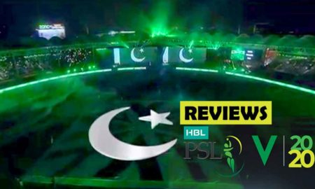 Reviews of PSL Opening Ceremony 2020