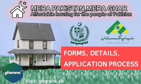 Mera Pakistan Mera Ghar Scheme Forms - Naya Pakistan Housing