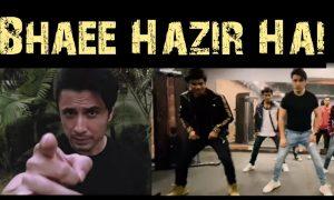 Bhaee Hazir Hai Song Teaser by Ali Zafar New Rap Song Released