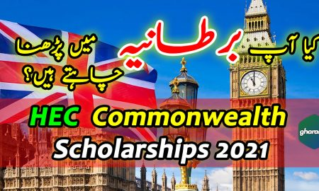 Commonwealth Scholarship 2021 HEC Commonwealth PhD Scholarship