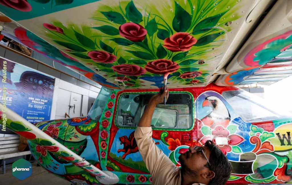 Truck Art Designed Planes Touches From the Highways to the Skies