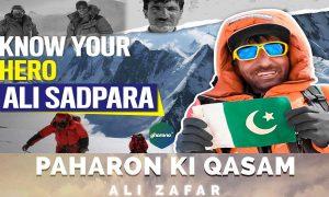 Ali Zafar Paharon ki Kasam Song