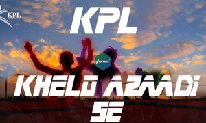 Kashmir Premier League Song 2021