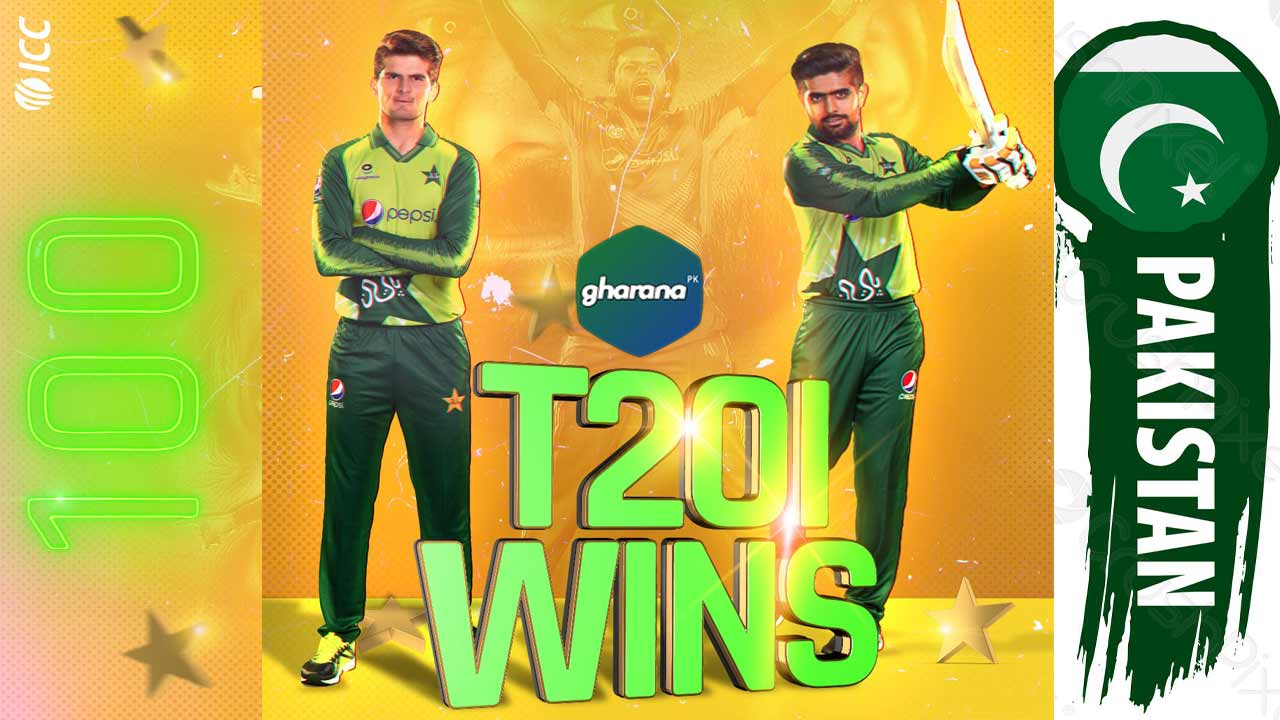 Pakistan Team won most T20 series in ICC Records T20