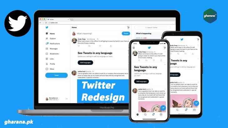 Twitter Redesign 2021 | Twitter New Font Chirp Introduced